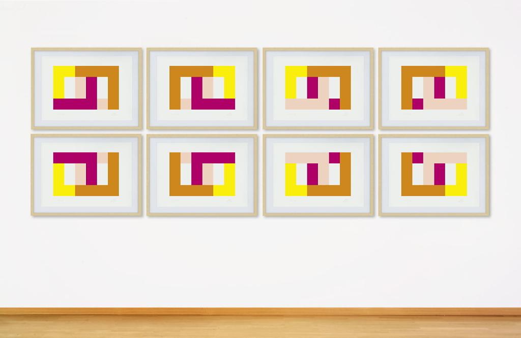acht Winkelkombinationen - Fine Art Print - Auflage 2