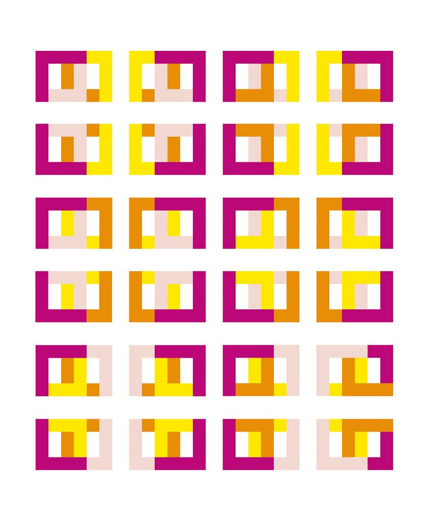 24 Kombinationen - Grafikauflage - Forum Konkrete Kunst Erfurt