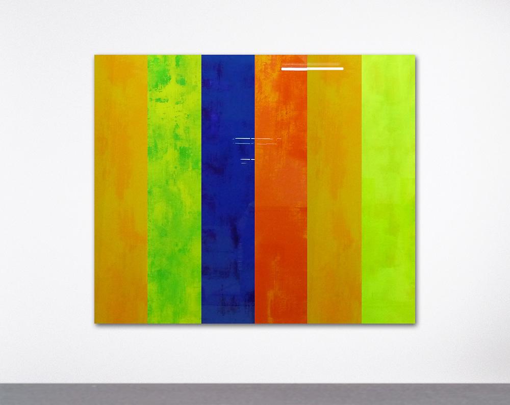 TAN 906210   I   Aktion Freude für Alle   I   Acryl hinter Glas   I  180 x 150 x 0,5 cm