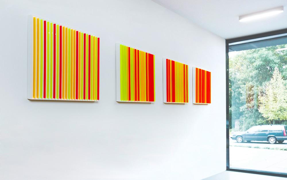 Stripes  I   Treppenhaus Dr. Beck und Partner,  Nürnberg