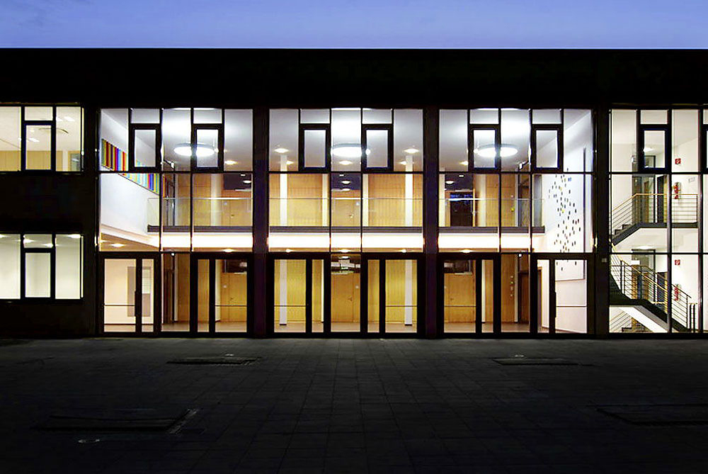 Kunst am Bau - Landesfinanzschule Bayern, Ansbach