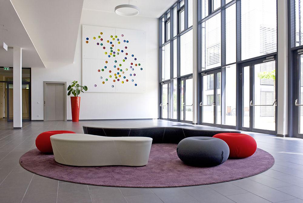 Standort/Standpunkt  -  Kunst am Bau - Landesfinanzschule Bayern, Ansbach