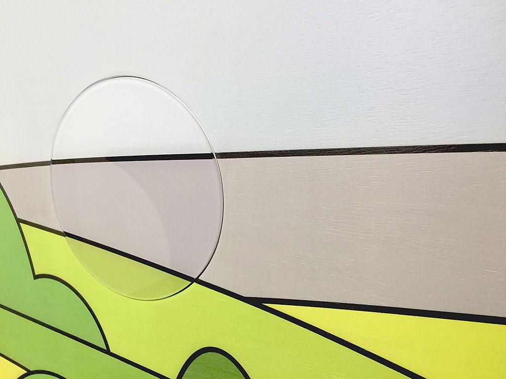 AWO Thüringen Gesundheitszentrum - Kunst am Bau - Detail Drehscheibe