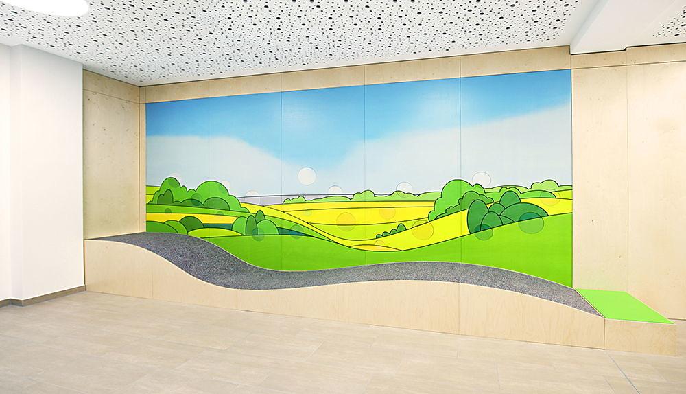 AWO Gesundheitszentrum - Kunst am Bau