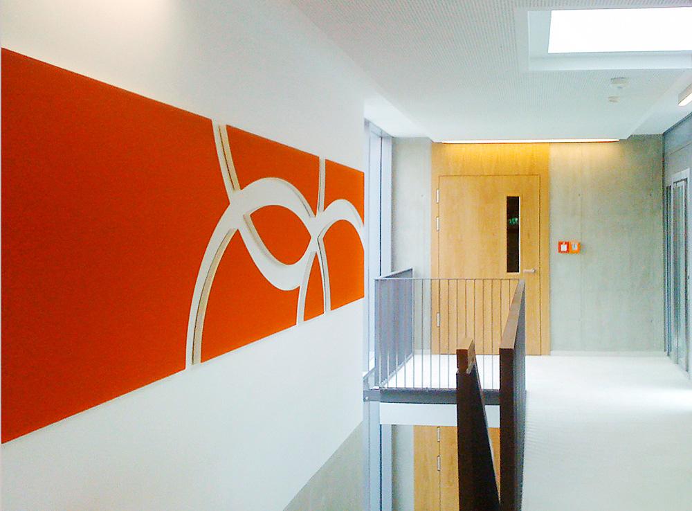 Kunst im Unternehmen - Kompetenzzentrum im Kolpinghaus, Nürnberg