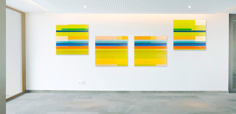 Kunst im Unternehmen - Universa Versicherungen, Nürnberg