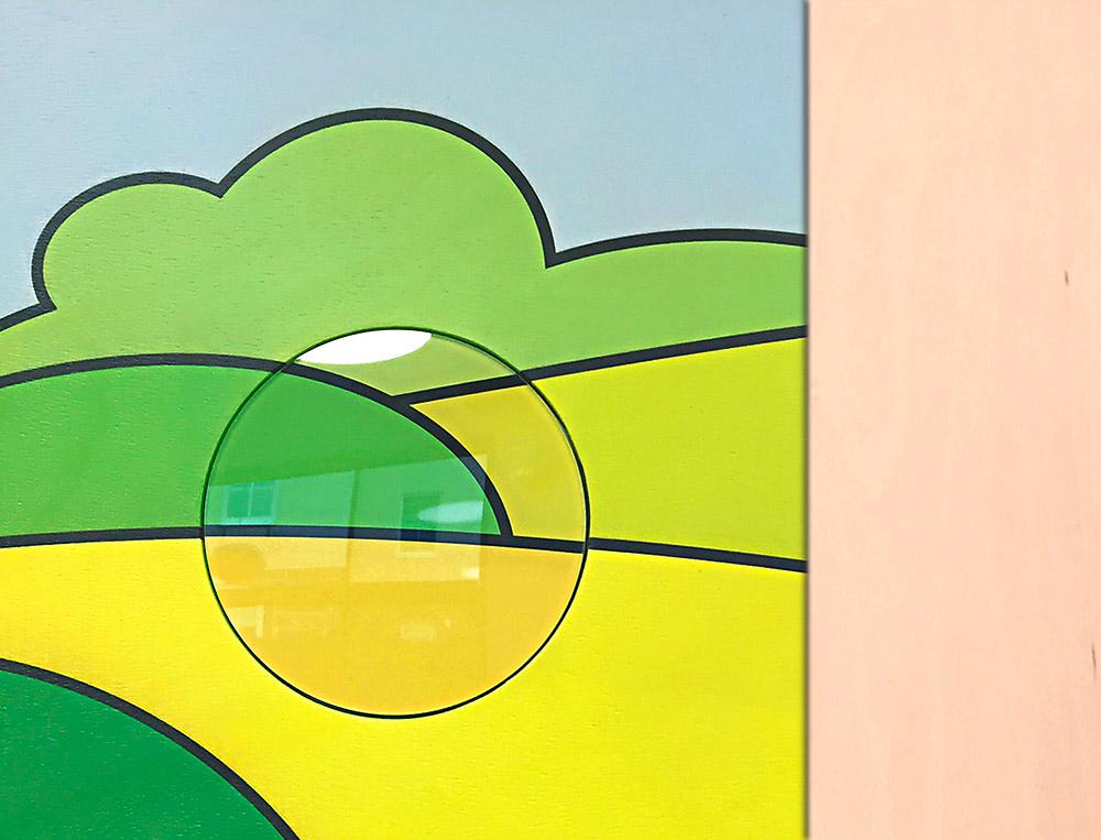 AWO Gesundheitszentrum - Kunst am Bau - Motiv ausgerichtet